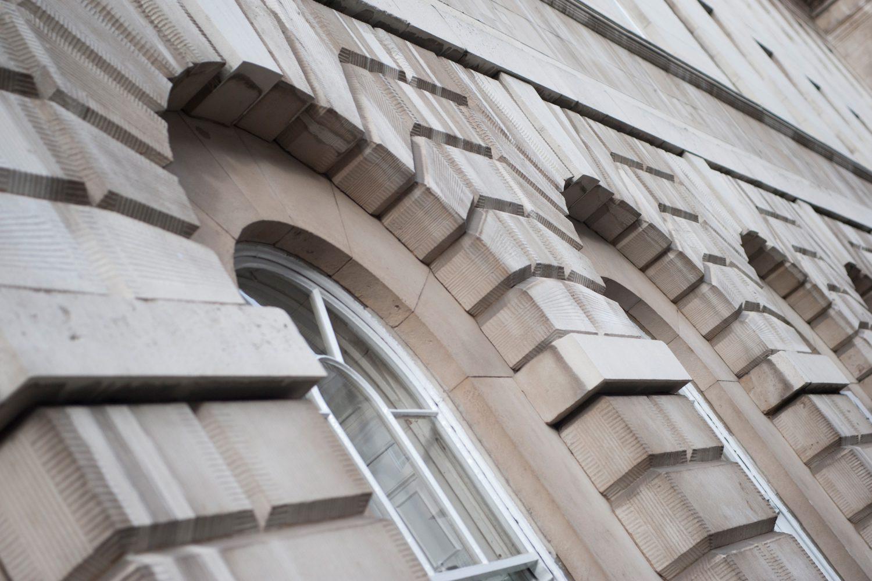 5 Stone Buildings - windows