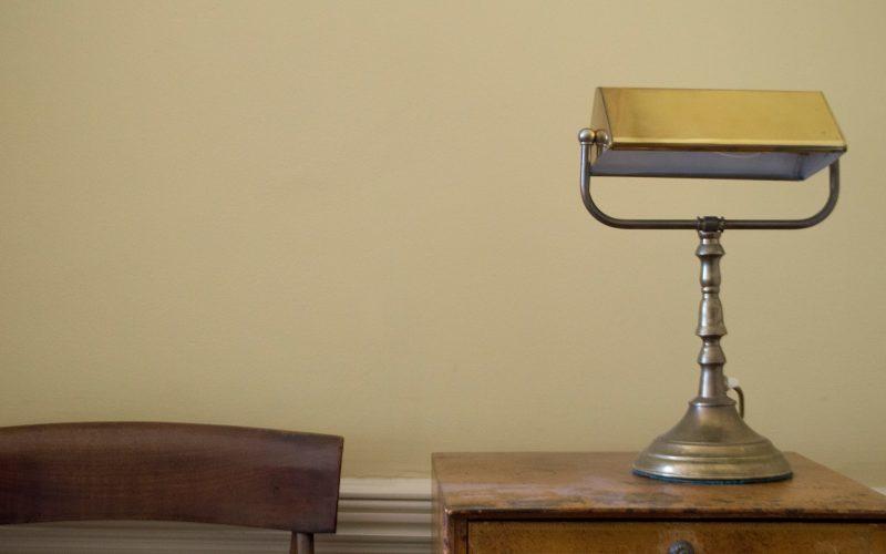 5 Stone Buildings - Desk lamp
