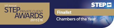 step awards chambers of the year finalist