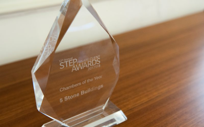 See us collect the Chambers of the Year Award at the ceremony