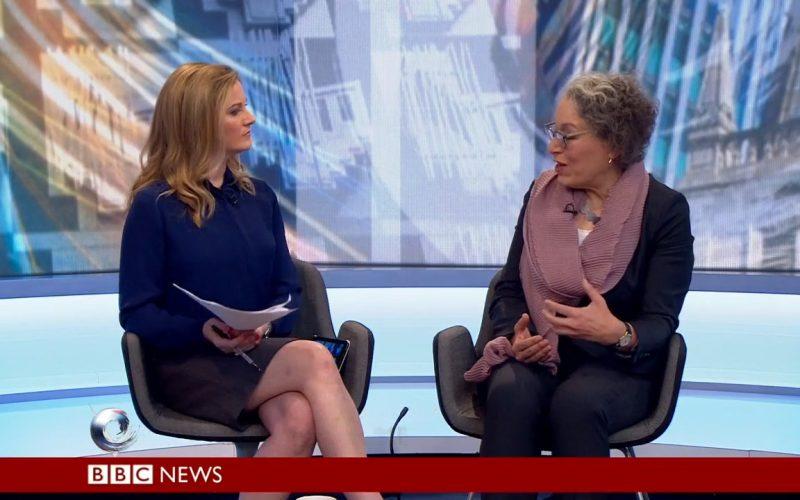 Barbara Rich interviewed on BBC2's Victoria Derbyshire programme on 27 April 2018
