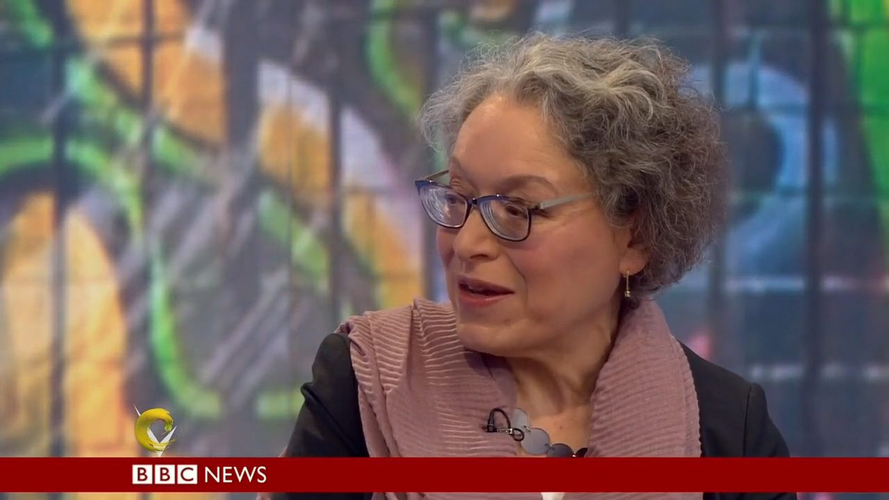 Barbara Rich interviewed on BBC2's Victoria Derbyshire programme on 27 April 2018 - 5 Stone Buildings