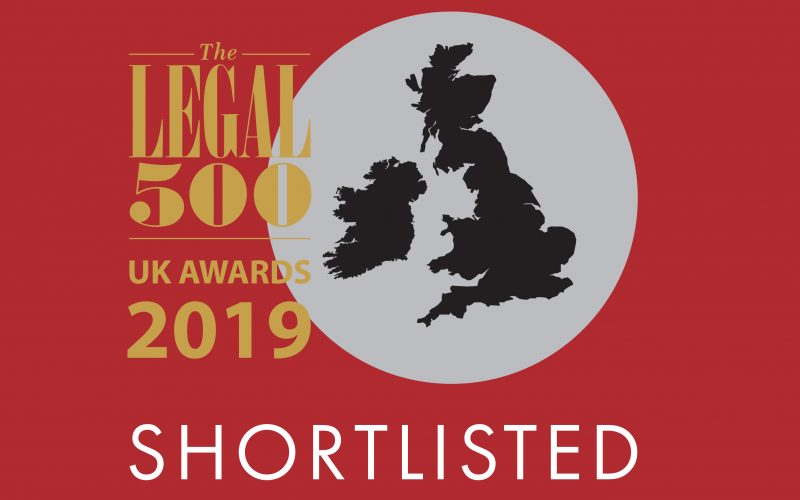The Legal 500 UK Awards 2019: 5 Stone Buildings shortlisted