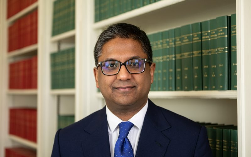 Raj Arumugam appointed by the Attorney General as Junior Counsel to the Crown (B Panel)